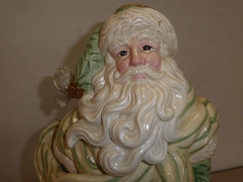 Lot # 259 - Beautiful Ceramic 'Fitz & Floyd' Classic Santa Claus (main image)