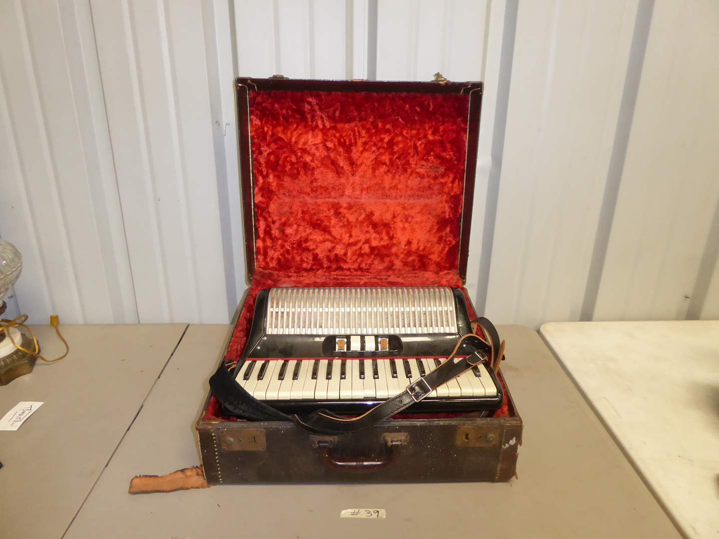 Lot # 39 - Vintage Accordion (Made in Italy)  (main image)