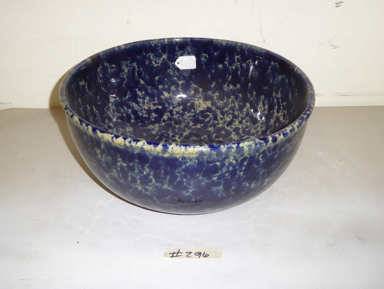 Lot # 296 - Bennington Spongeware Art Pottery Bowl  (main image)