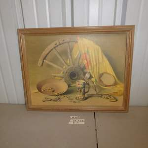 """Auction Thumbnail for: Lot # 309 - Claude Buck Acme Brewery Advertisement """"Quest For Fortune"""" Print"""