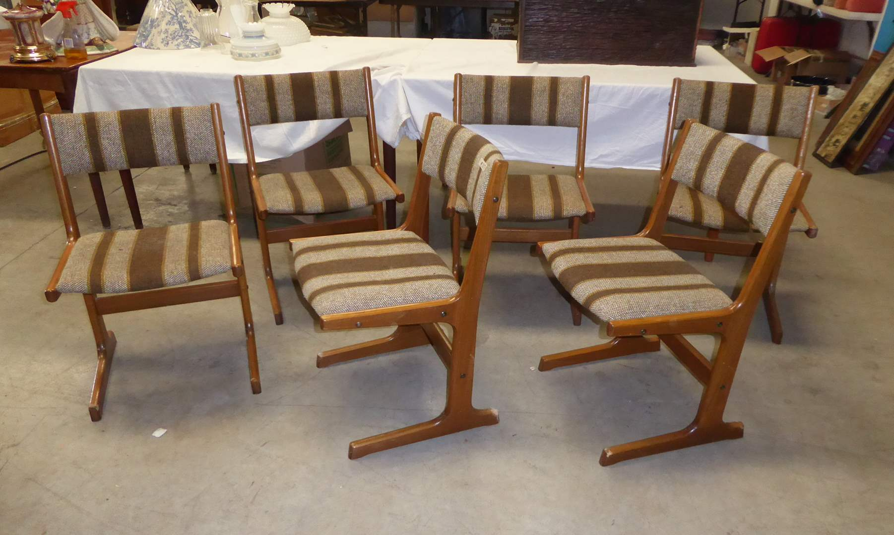 Lot # 317 - Six Vintage Chairs  (main image)
