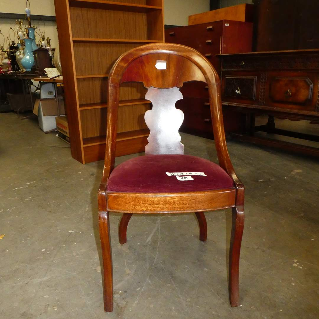 Lot # 115 - Beautiful Antique Chair (main image)