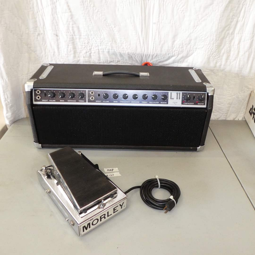 Lot # 137 - LABSeries L11 Amplifier (Model 313A) & Morley Power Wah Boost Pedal (Model PWB) (main image)