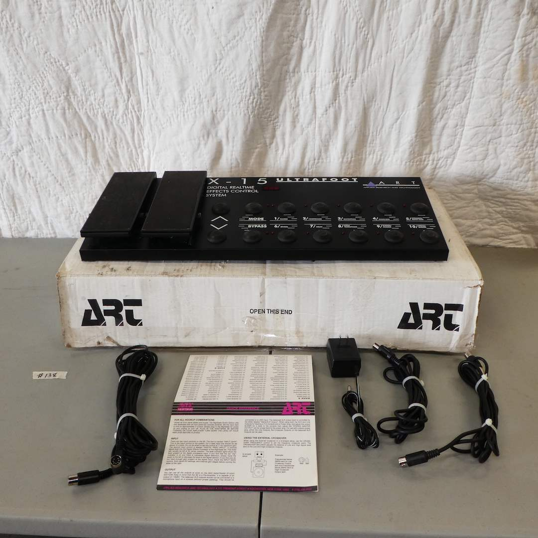 Lot # 138 - Art X-15 Ultrafoot--Digital Realtime Effects Control System  (main image)