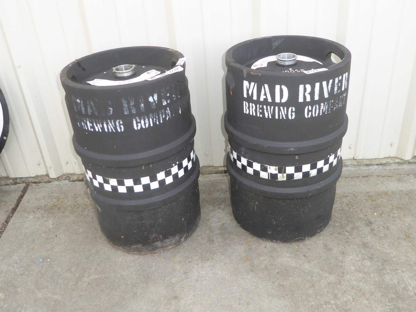 """Lot # 126 - Two """"Mad River Brewing Company"""" Beer Kegs (main image)"""