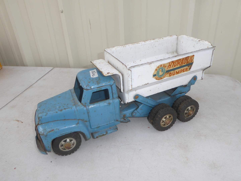 Lot # 134 - Vintage Buddy L Hydraulic Dumper Truck (main image)