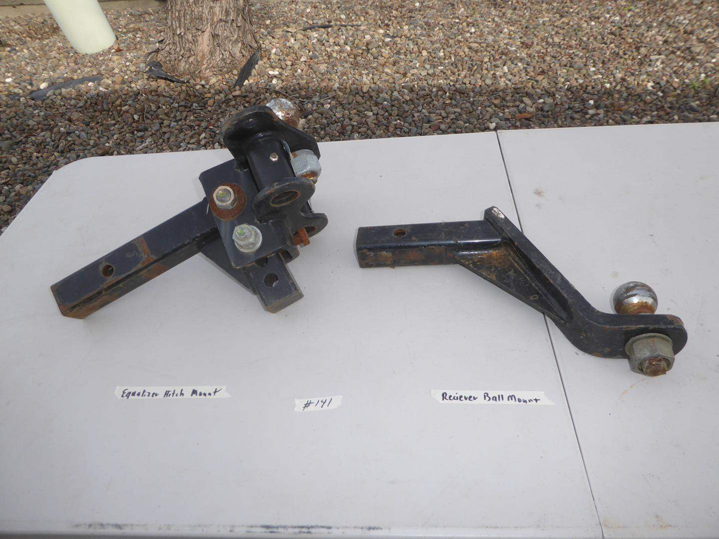 Lot # 141 - Equalizer Hitch Mount & Receiver Ball Mount (main image)