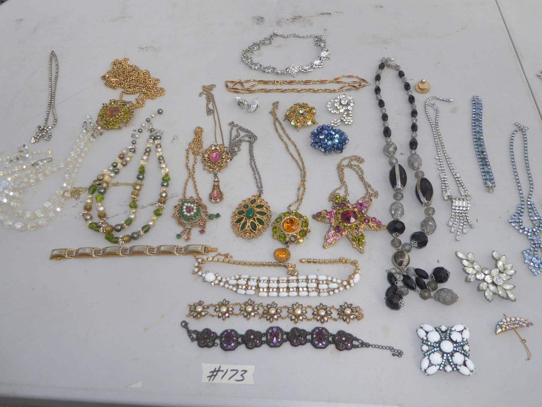 Lot # 173 - Fun Costume Jewelry (main image)