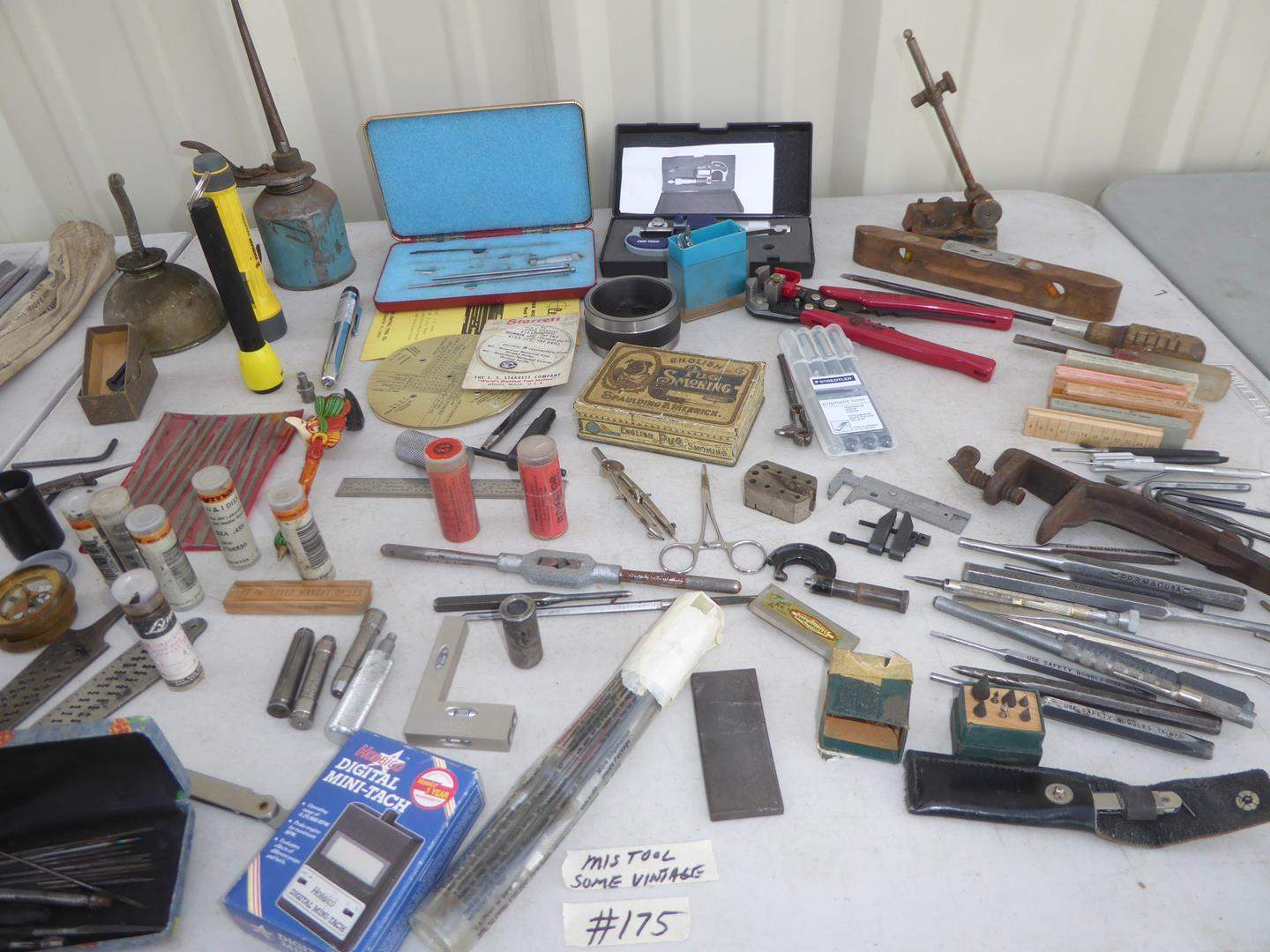 Lot # 175 - Assorted Tools - Some Vintage (main image)