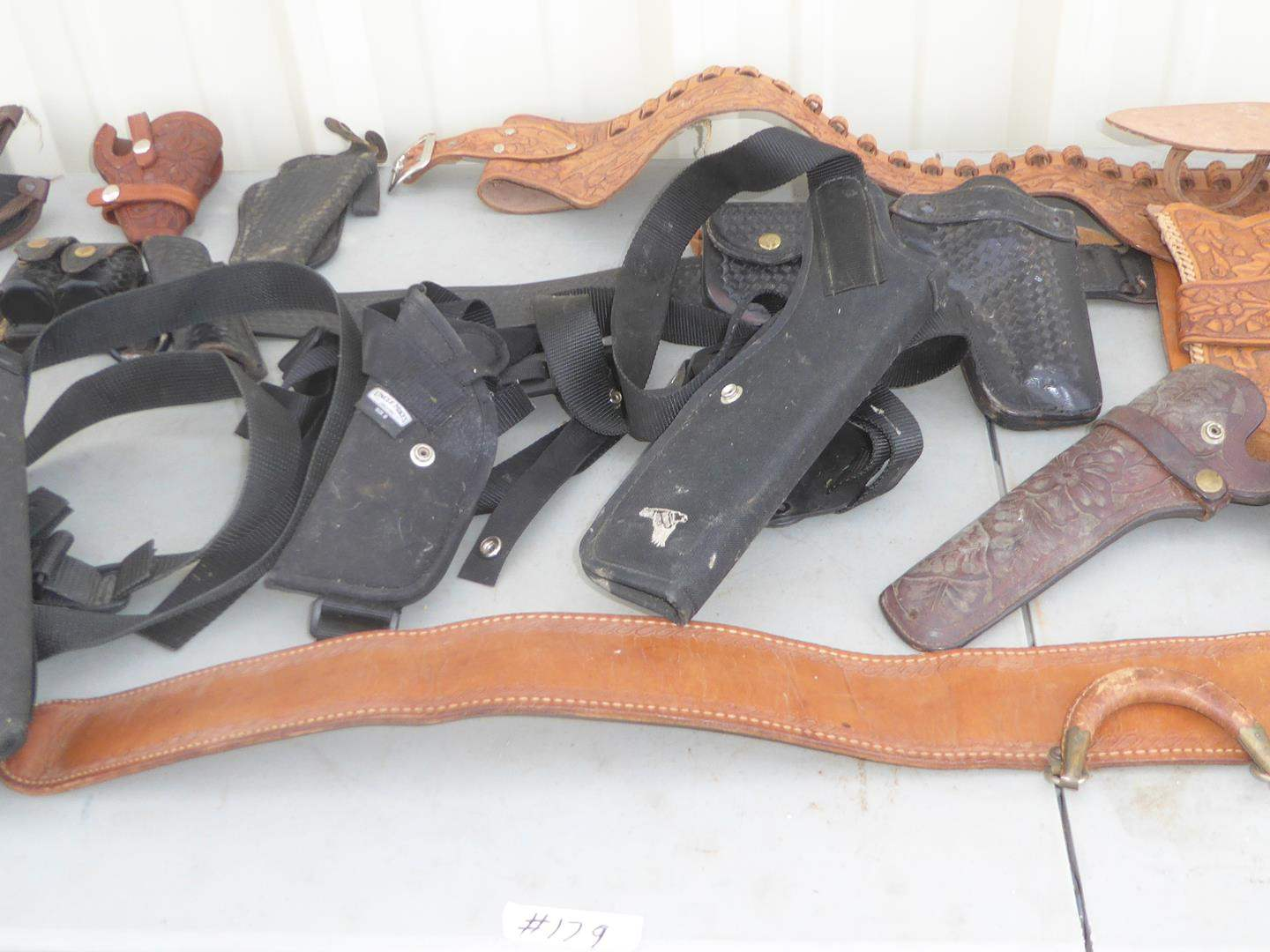 Lot # 179 - Misc. Gun Holsters (main image)