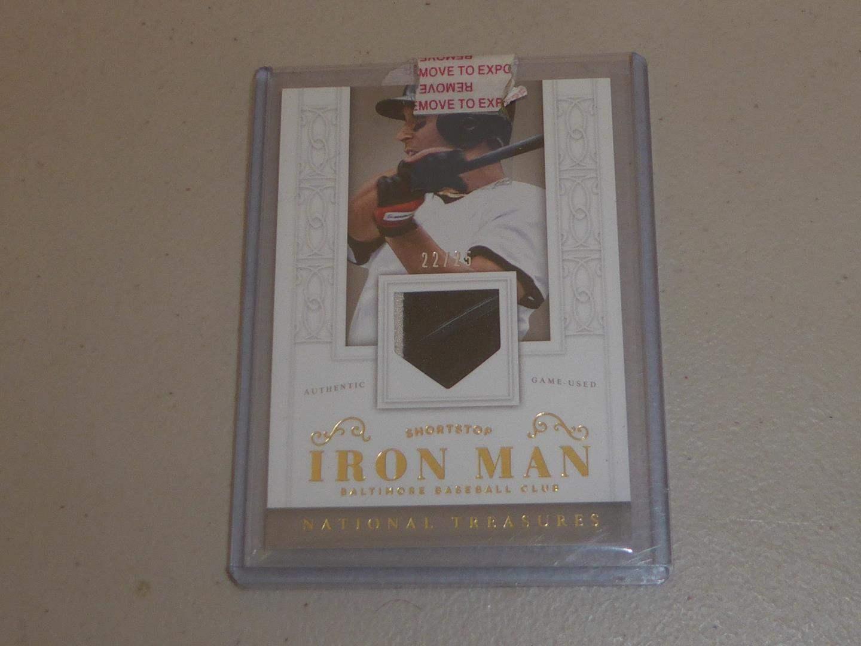 "Lot # 197 - No. 85  ""Iron Man"" Calvin Ripken Jr. Baseball Card (main image)"