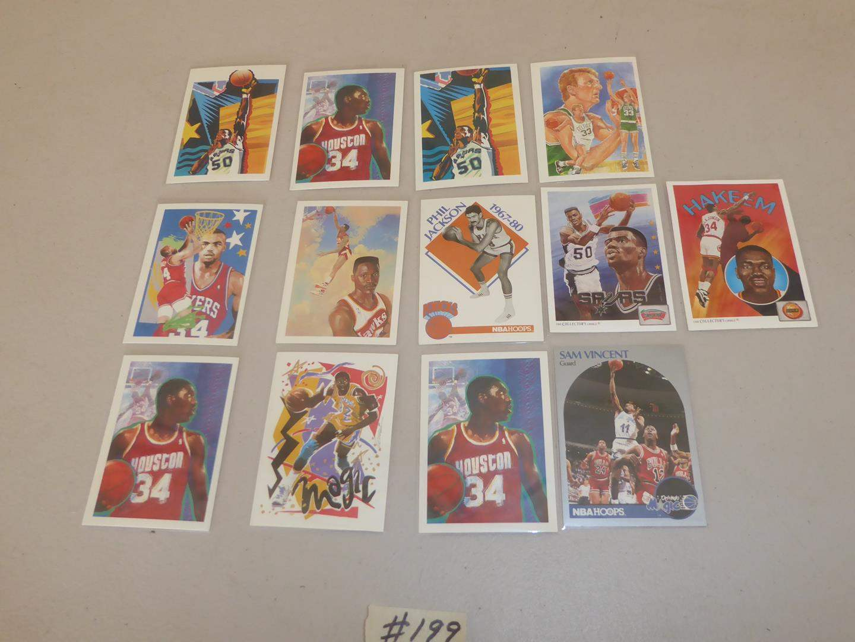 Lot # 199 - 1990 NBA Basketball Cards (main image)