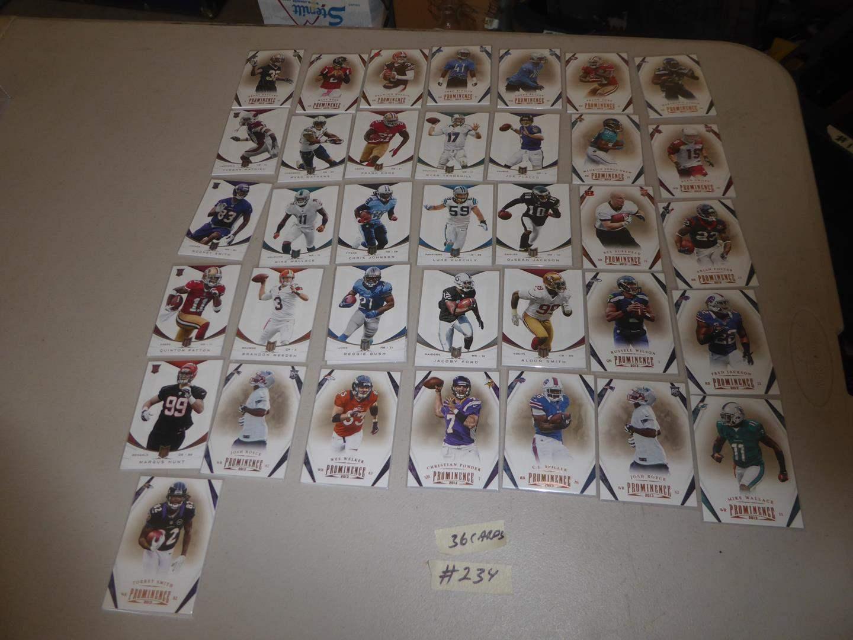 Lot # 234 - Thirty Six 2013 Panini NFL Football Trading Cards (main image)