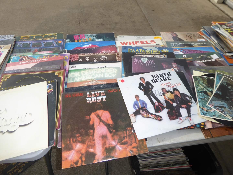 Lot # 6 - 100 Records (Rock, Pop & Easy Listening)  (main image)
