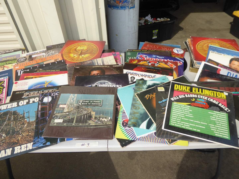 Lot # 9 - 60 + Records (R&B, Soul, Funk, Rock & More)  (main image)
