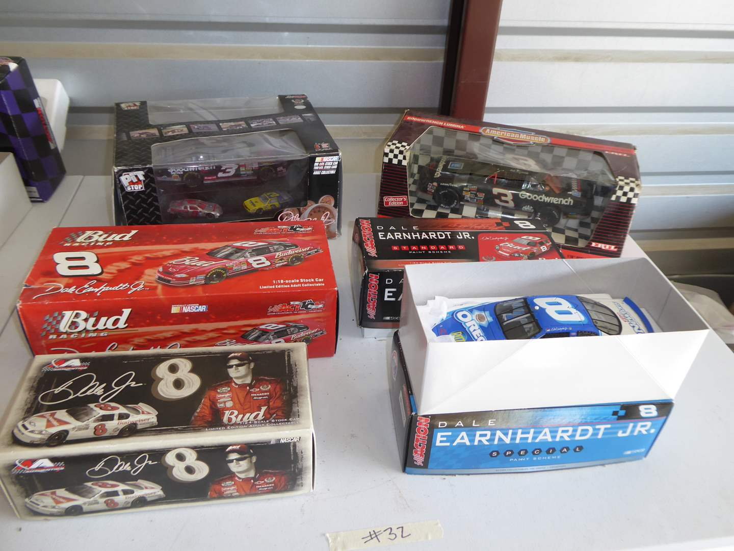Lot # 32 - Six Collectible Die Cast Cars  (main image)