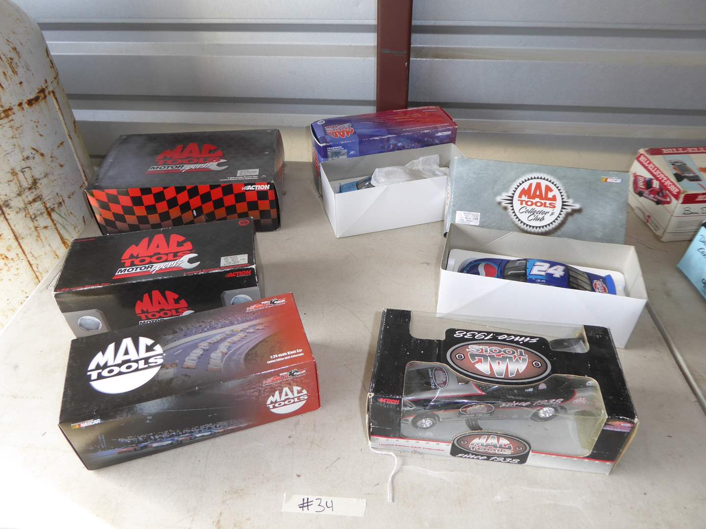 Lot # 34 - Six Collectible Die Cast Cars  (main image)