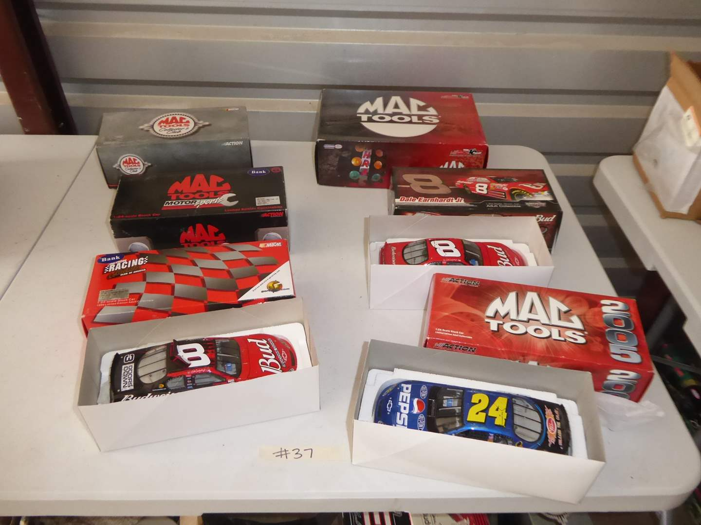 Lot # 37 - Six Collectible Die Cast Cars  (main image)