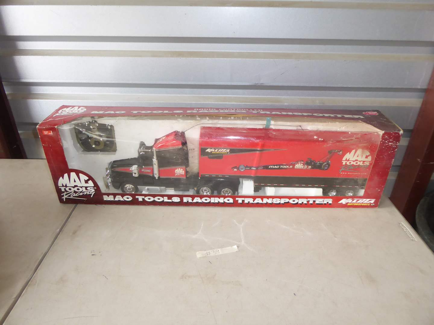 Lot # 39 - MAC Tools Radio Controlled Transporter (Never Opened)  (main image)