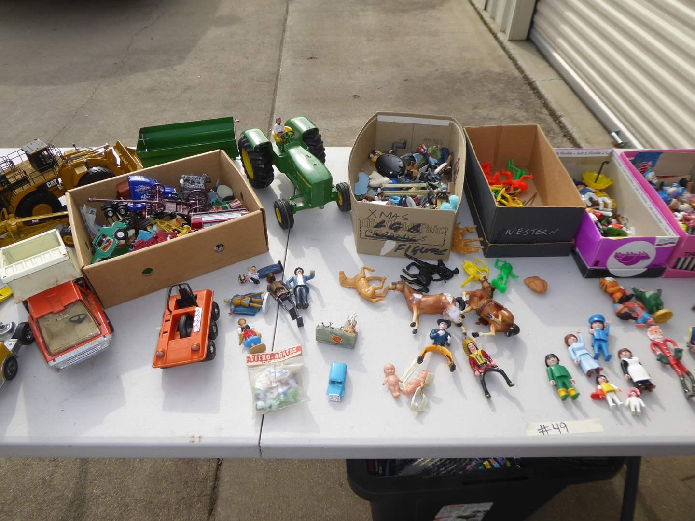 Lot # 49 - Vintage Toy Lot  (main image)