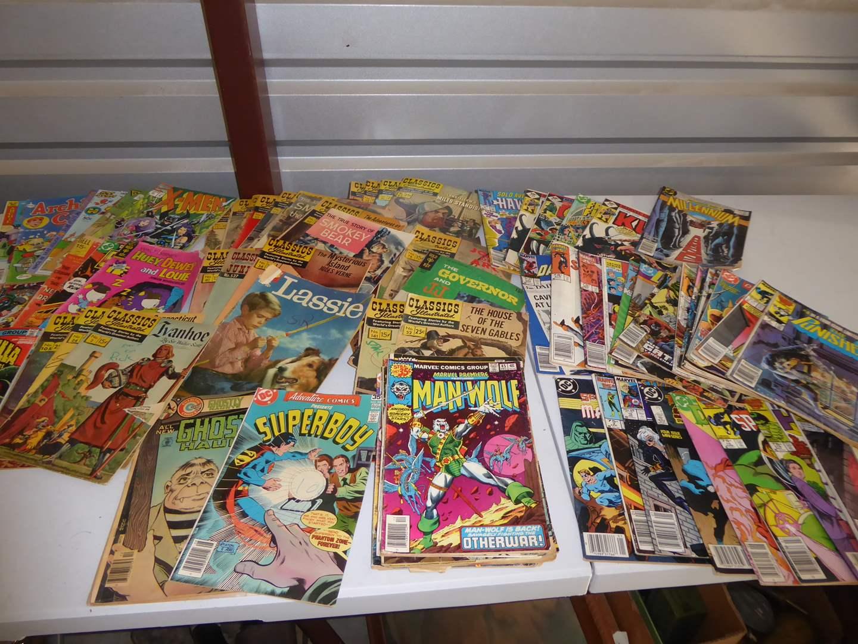 Lot # 54 - Vintage Comic Books (1960's-1980's)  (main image)