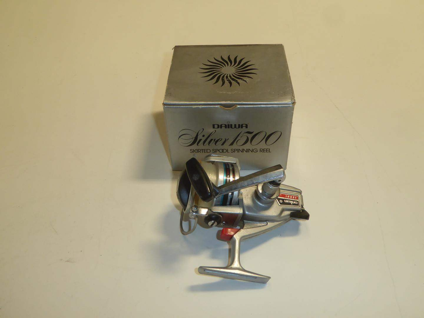 Lot # 85 - Daiwa Silver 1500 Skirted Spool Spinning Reel (main image)
