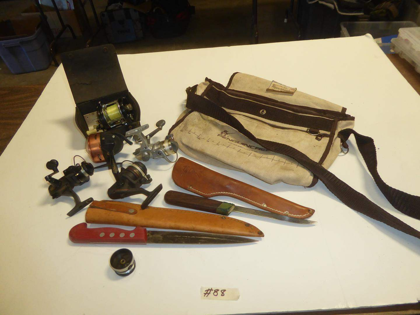 Lot # 88 - Filet Knives & Fishing Reels (main image)