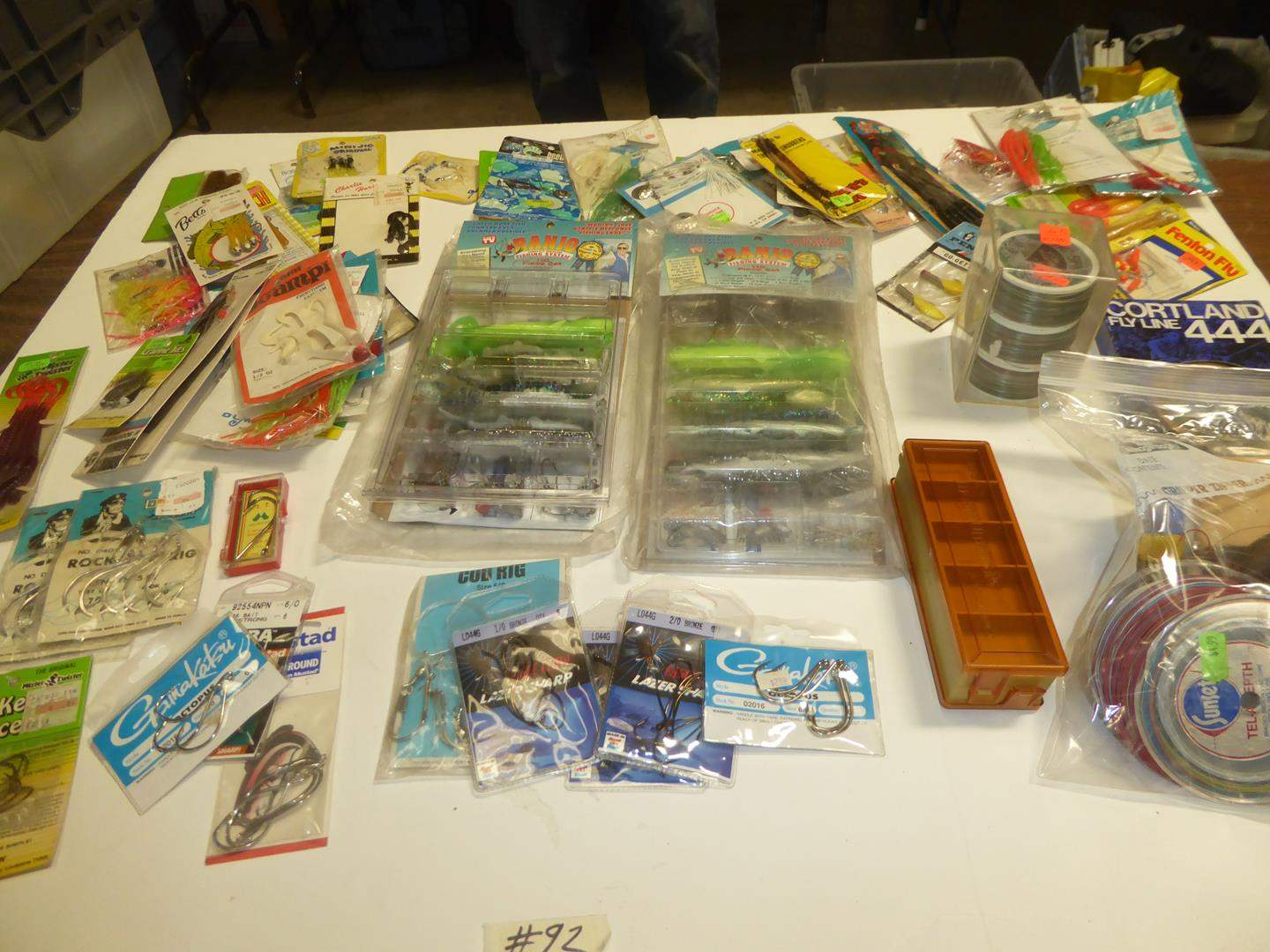 Lot # 92 - Fishing Tackle & Fishing Line (main image)