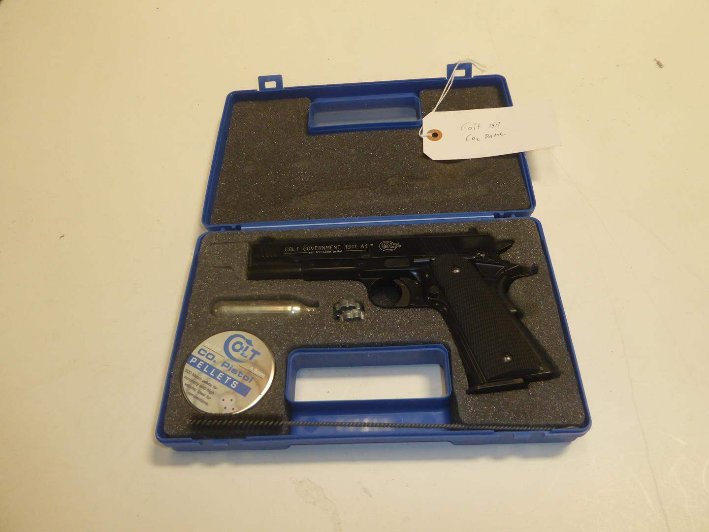 Lot # 97 - Colt Government 1911 A1 Co2 .177 Pellet Gun - Made in Germany (main image)
