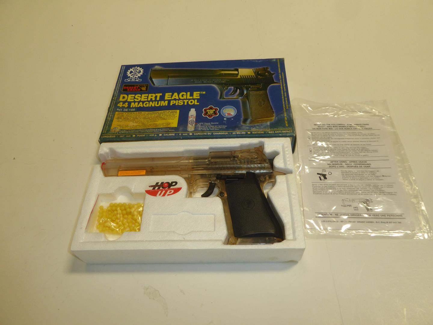 Lot # 98 - Desert Eagle 44 Magnum Pistol Plastic Air Soft Gun (main image)