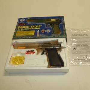 Auction Thumbnail for: Lot # 98 - Desert Eagle 44 Magnum Pistol Plastic Air Soft Gun