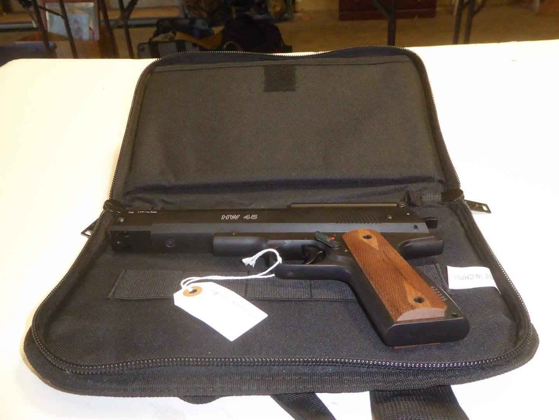 Lot # 100 - Weihrauch HW 45 Air Pistol (main image)