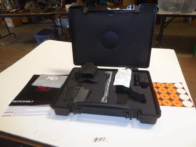Lot # 107 - XDS Pistol Case - No Gun (main image)