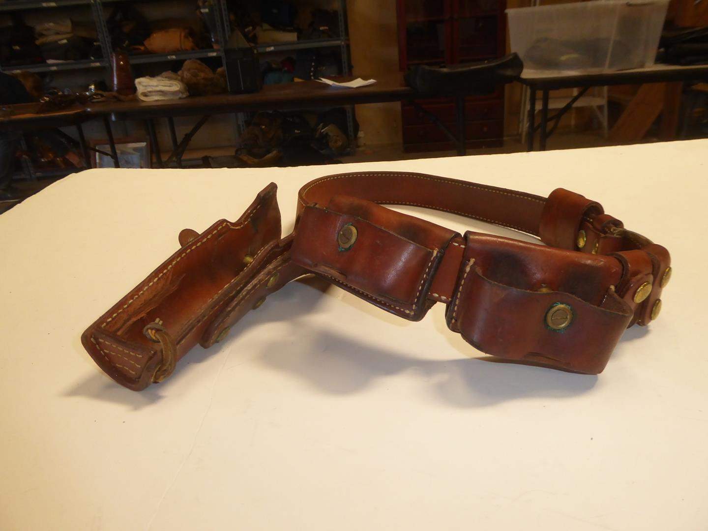 Lot # 108 - PPC Revolver 38 Holster & Speed Loaders (main image)