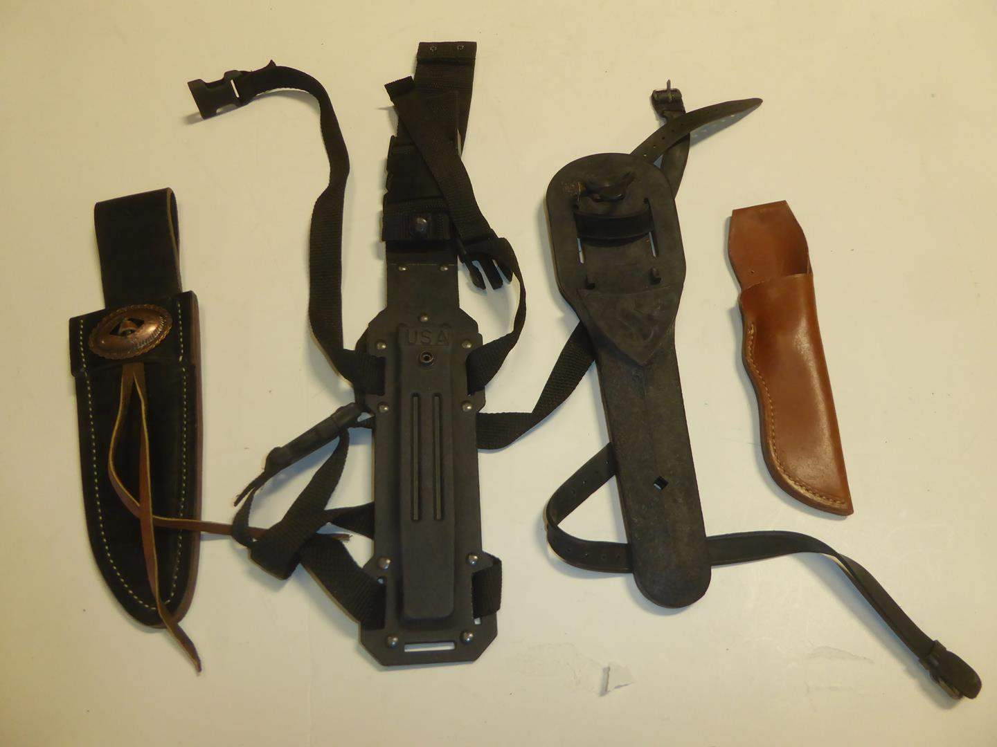Lot # 113 - Knife Sheaths (main image)