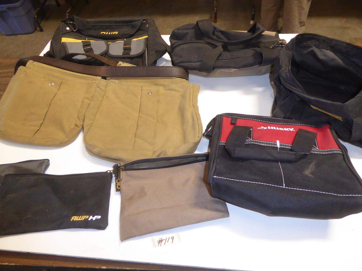 Lot # 119 - Filson Belt Pouch & Totes (main image)