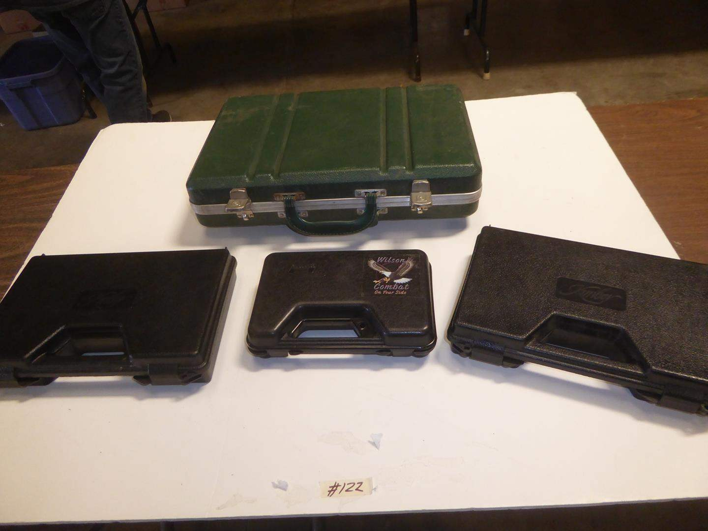 Lot # 122 - Assorted Gun Cases (main image)
