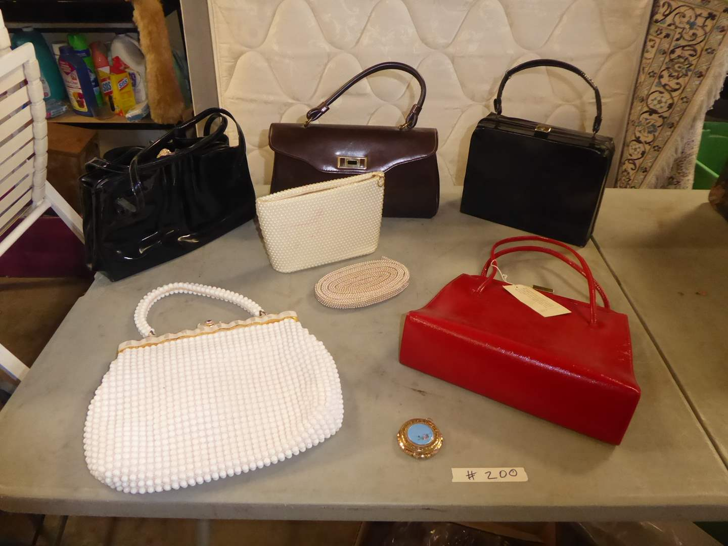 Lot # 200 - Vintage Purse Lot  (main image)