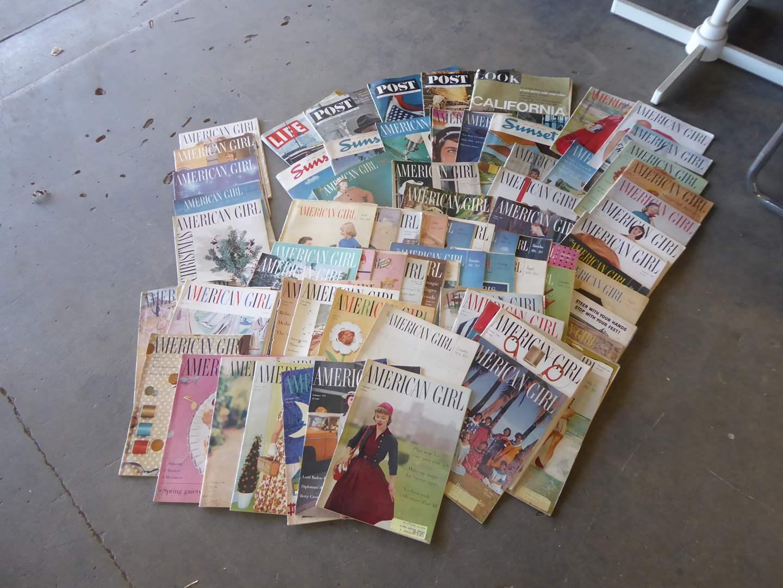 Lot # 208 - Vintage American Girl Magazines (1953-1960) & Other Vintage Magazines  (main image)