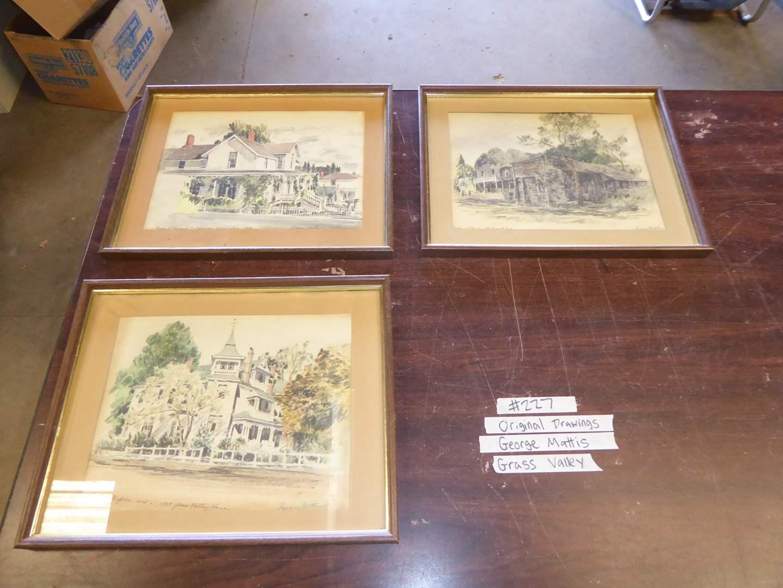 Lot # 227 - Three Prints By George Mattis Grass Valley (main image)