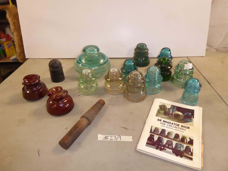 Lot # 239 - Continental Rubberworks Insulator & Ceramic & Glass Insulators (main image)