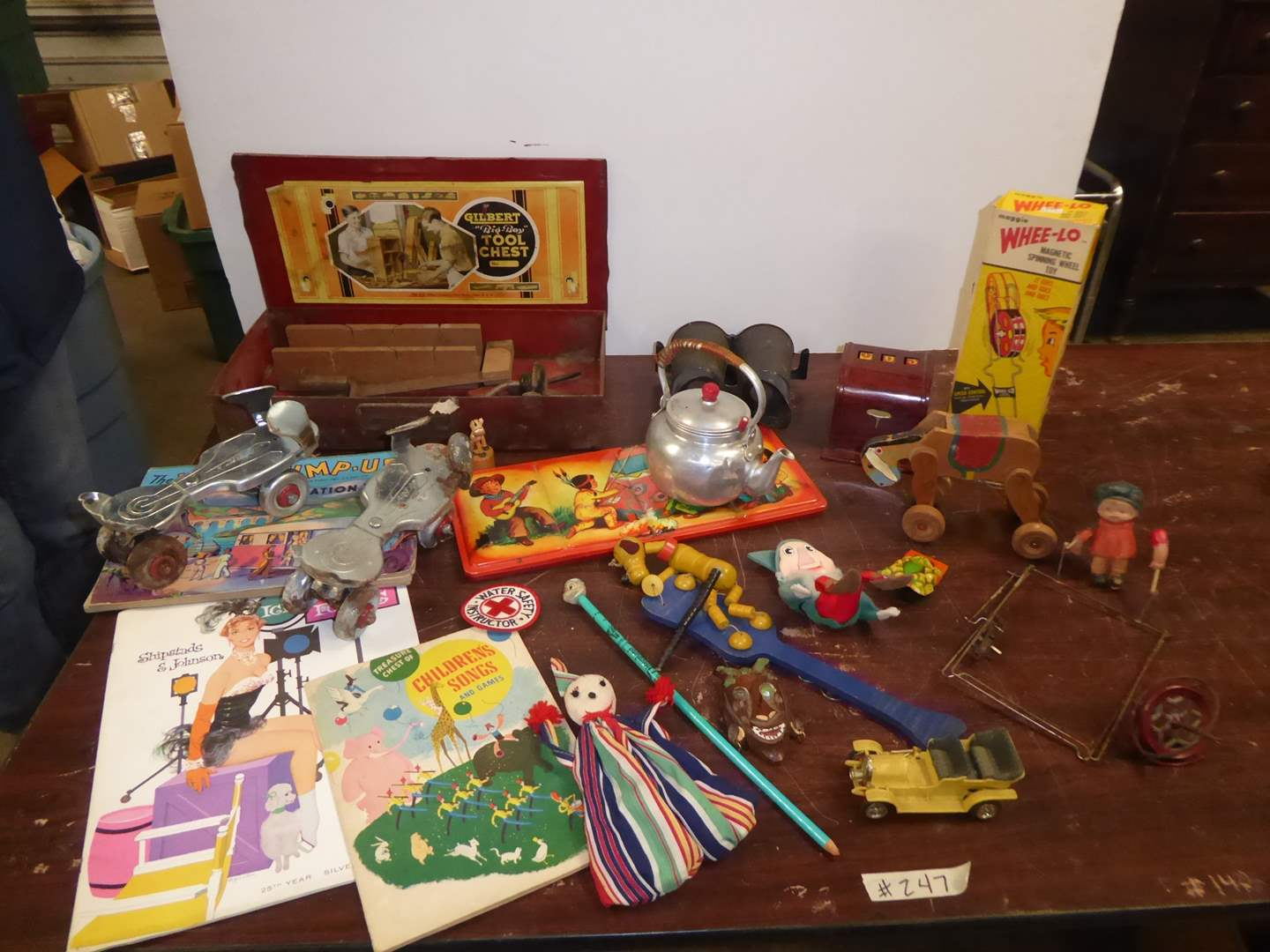 Lot # 247 - Vintage Kids Toys, Books & Collectibles  (main image)