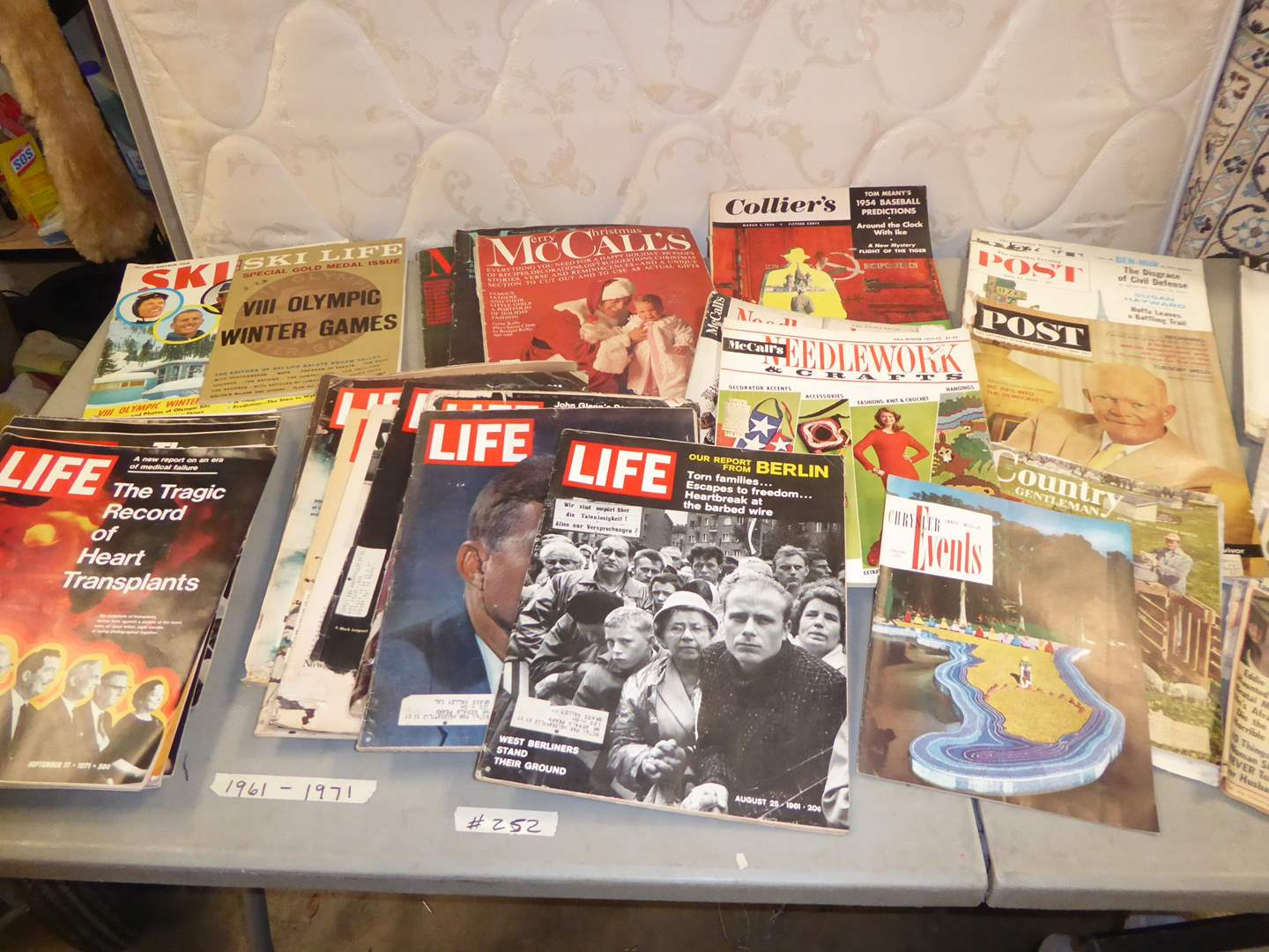 "Lot # 252 - Vintage ""Life"" Magazines, ""Post"" & More  (main image)"