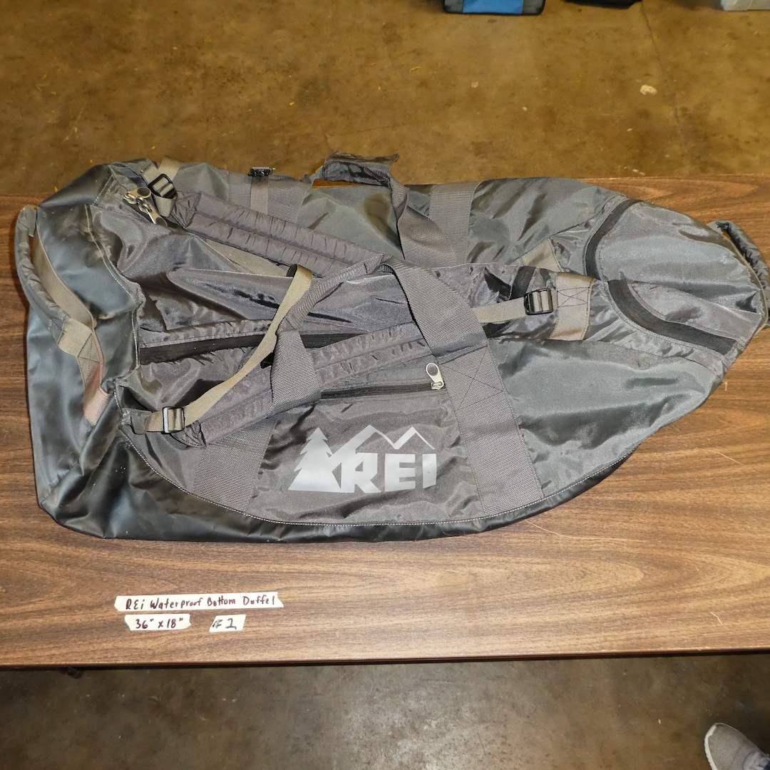 Lot # 2 - Large REI Waterproof Bottom Duffel (main image)