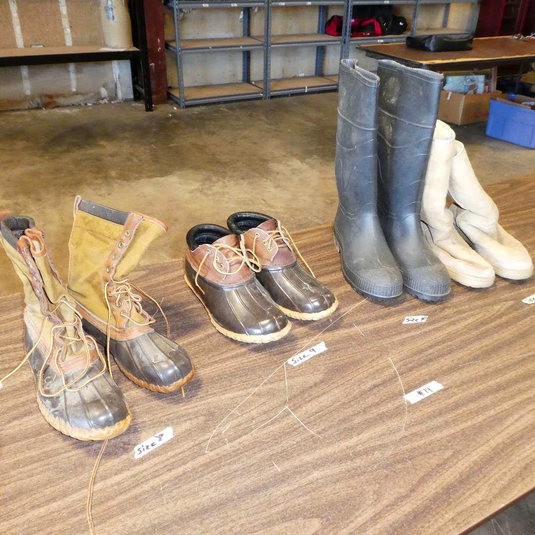 Lot # 14 - Mens Boots Lot ( UGG, Schnee's and More) (Mens Size 8) (main image)
