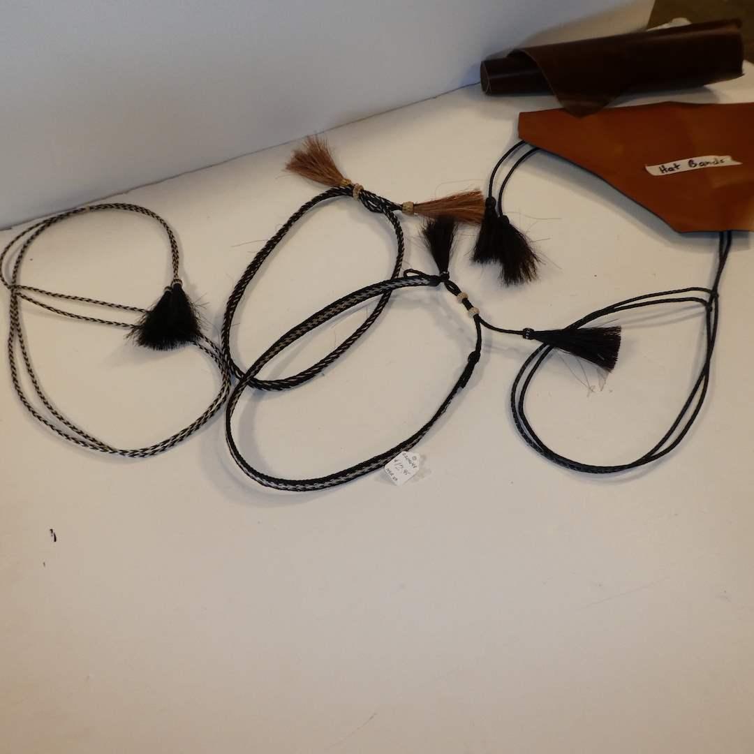 Lot # 67 - Vintage adjustable Hat Bands  (main image)