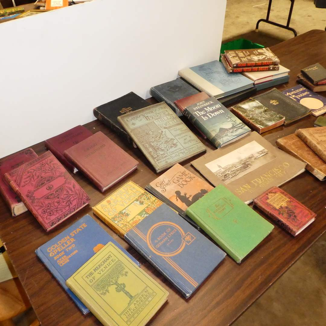Lot # 284 - Variety of Vintage/Antique Books as Early as 1883  (main image)