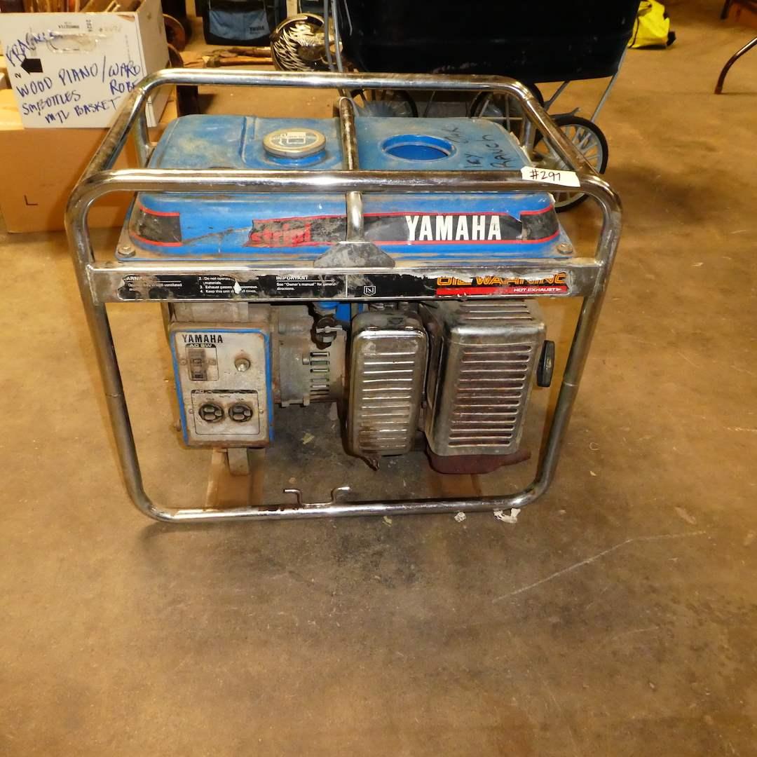 Lot # 297 - EC2800 Yamaha Generator (works) (main image)