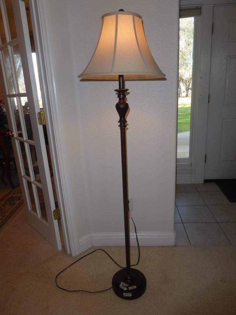Lot # 117 -  3-Way Floor Lamp (main image)