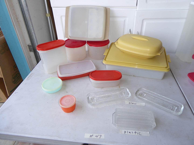 Lot # 47 - Plastic Tupperware  (main image)